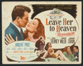 "Movie Posters:Film Noir, Leave Her to Heaven (20th Century Fox, 1945). Lobby Card Set of 8(11"" X 14""). Film Noir.. ... (Total: 8 Items)"