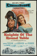"Movie Posters:Adventure, Knights of the Round Table (MGM, 1953). One Sheet (27"" X 41"").Adventure.. ..."