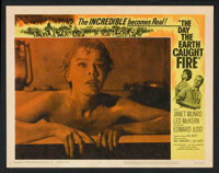 """The Day the Earth Caught Fire (Universal, 1962). Lobby Card Set of 8 (11"""" X 14""""). Science Fiction. ... (Total:..."""