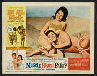 """Muscle Beach Party (American International, 1964). Lobby Card Set of 8 (11"""" X 14""""). Comedy. ... (Total: 8 Item..."""