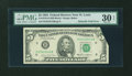 Error Notes:Foldovers, Fr. 1978-H $5 1985 Federal Reserve Note. PMG Very Fine 30 EPQ.. ...