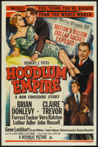 "Hoodlum Empire (Republic, 1952). One Sheet (27"" X 41""). Film Noir"