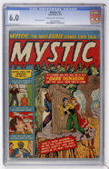 Golden Age (1938-1955):Horror, Mystic #2 (Atlas, 1951) CGC FN 6.0 Cream to off-white pages....