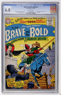 Silver Age (1956-1969):Adventure, The Brave and the Bold #8 Robin Hood (DC, 1956) CGC FN 6.0 Off-white pages....