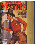 Pulps:Western, Thrilling Western July-December '38 Bound Volume (Better Publications, 1938)....