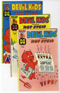 Bronze Age (1970-1979):Cartoon Character, Devil Kids File Copies Group (Harvey, 1974-76) Condition: AverageNM.... (Total: 7)