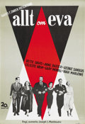 """Movie Posters:Drama, All About Eve (20th Century Fox, 1950). Swedish One Sheet (27.5"""" X39.5""""). ..."""