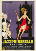 """Movie Posters:Comedy, The Exalted Flapper (Fox, 1929). Swedish One Sheet (27.5"""" X 39.5""""). ..."""