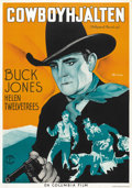 "Movie Posters:Western, Hollywood Roundup (Columbia, 1937). Swedish One Sheet (27.5"" X 39.5""). ..."