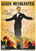 "Movie Posters:Comedy, Thanks a Million (20th Century Fox, 1935). Swedish One Sheet (27.5""X 39.5""). ..."