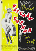 """Movie Posters:Comedy, The Seven Year Itch (20th Century Fox, 1955). Swedish One Sheet(27.5"""" X 39.5""""). ..."""