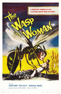 "Movie Posters:Science Fiction, The Wasp Woman (Film Group, Inc., 1959). One Sheet (27"" X 41"")...."