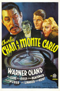 "Movie Posters:Mystery, Charlie Chan at Monte Carlo (20th Century Fox, 1937). One Sheet(27"" X 41""). ..."