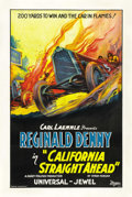 "Movie Posters:Comedy, California Straight Ahead (Universal, 1925). One Sheet (27"" X41"")...."