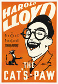 """Movie Posters:Comedy, The Cat's Paw (Fox, 1934). Leader Press One Sheet (28"""" X 41""""). Comedy...."""