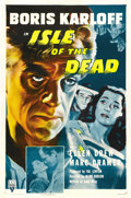 """Movie Posters:Horror, Isle of the Dead (RKO, R-1953). One Sheet (27"""" X 41""""). ..."""