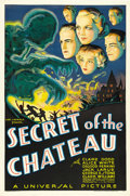 "Movie Posters:Mystery, Secret of the Chateau (Universal, 1934). One Sheet (27"" X 41""). ..."