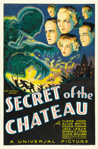 """Secret of the Chateau (Universal, 1934). One Sheet (27"""" X 41"""")"""