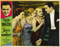 """Movie Posters:Comedy, Safety in Numbers (Paramount, 1930). Lobby Card (11"""" X 14""""). ..."""