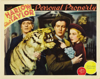 """Personal Property (MGM, 1937). Lobby Card (11"""" X 14"""")"""