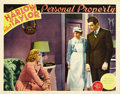 "Movie Posters:Romance, Personal Property (MGM, 1937). Lobby Cards (2) (11"" X 14""). ...(Total: 2 Items)"