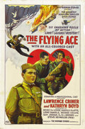 "Movie Posters:War, The Flying Ace (Norman, 1926). One Sheet (27"" X 41"")...."