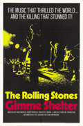 "Movie Posters:Rock and Roll, Gimme Shelter (20th Century Fox, 1970). One Sheet (27"" X 41"")...."