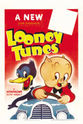 "Movie Posters:Animated, Looney Tunes (Warner Brothers, 1940). One Sheet (27"" X 41""). ..."