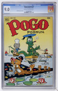 Golden Age (1938-1955):Funny Animal, Pogo Possum #8 (Dell, 1952) CGC VF/NM 9.0 Cream to off-whitepages....