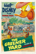 "Movie Posters:Animated, The Greener Yard (RKO, 1949). One Sheet (27"" X 41"")...."