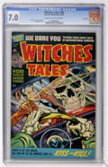 Golden Age (1938-1955):Horror, Witches Tales #20 File Copy (Harvey, 1953) CGC FN/VF 7.0 Cream tooff-white pages....