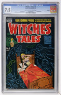 Golden Age (1938-1955):Horror, Witches Tales #2 File Copy (Harvey, 1951) CGC VF- 7.5 Light tan tooff-white pages....