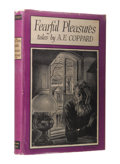 Books:First Editions, A. E. Coppard: Fearful Pleasures. (Sauk City: Arkham House,1946), first edition, 301 pages, dust jacket by Ronald Clyne...