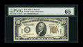 Small Size:World War II Emergency Notes, Fr. 2303 $10 1934A Hawaii Federal Reserve Note. PMG Gem Uncirculated 65.. ...