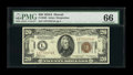 Small Size:World War II Emergency Notes, Fr. 2305 $20 1934A Hawaii Federal Reserve Note. PMG Gem Uncirculated 66.. ...