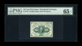 Fractional Currency:First Issue, Fr. 1243 10¢ First Issue PMG Gem Uncirculated 65 EPQ....
