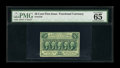 Fractional Currency:First Issue, Fr. 1310 50¢ First Issue PMG Gem Uncirculated 65 EPQ....