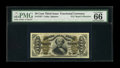 Fractional Currency:Third Issue, Fr. 1327 50¢ Third Issue Spinner PMG Gem Uncirculated 66 EPQ....