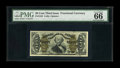 Fractional Currency:Third Issue, Fr. 1342 50¢ Third Issue Spinner Type II PMG Gem Uncirculated 66 EPQ....