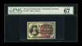 Fractional Currency:Fourth Issue, Fr. 1259 10¢ Fourth Issue PMG Superb Gem Unc 67 EPQ....