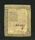 Colonial Notes:Delaware, Delaware January 1, 1776 2s/6d Fine....