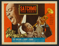 "Satchmo The Great (United Artists, 1957). Lobby Card Set of 8 (11"" X 14""). Musical. ... (Total: 8 Items)"