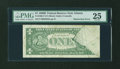 Error Notes:Obstruction Errors, Fr. 1905-F $1 1969B Federal Reserve Note. PMG Very Fine 25.. ...
