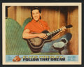 "Movie Posters:Elvis Presley, Follow That Dream (United Artists, 1962). Lobby Card Set of 8 (11""X 14""). Elvis Presley.. ... (Total: 8 Items)"