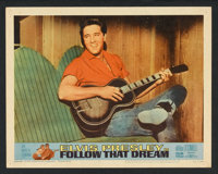 "Follow That Dream (United Artists, 1962). Lobby Card Set of 8 (11"" X 14""). Elvis Presley. ... (Total: 8 Items)"