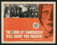 """The Curse of Frankenstein (Warner Brothers, 1957). Lobby Card Set of 8 (11"""" X 14""""). Horror. ... (Total: 8 Item..."""