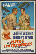 "Movie Posters:War, Flying Leathernecks (RKO, 1951). One Sheet (27"" X 41""). War.. ..."