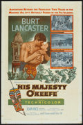 "Movie Posters:Adventure, His Majesty O'Keefe (Warner Brothers, 1954). One Sheet (27"" X 41"").Adventure.. ..."