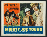 """Mighty Joe Young (RKO, R-1953). Lobby Card Set of 8 (11"""" X 14""""). Adventure. ... (Total: 8 Items)"""