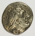 Ancients:Ancient Lots  , Ancients: Greek & Indian. Lot of five silver and bronzecoins.... (Total: 5 coins)